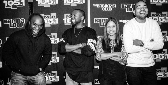 Kanye West Breakfast club