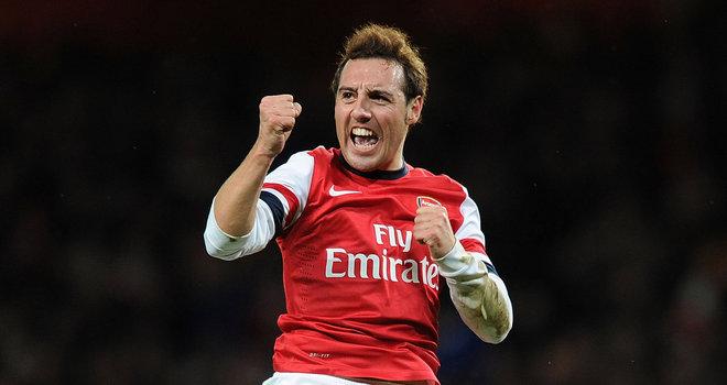 Arsenal-v-Tottenham-Santi-Cazorla-celebrates-_3061692